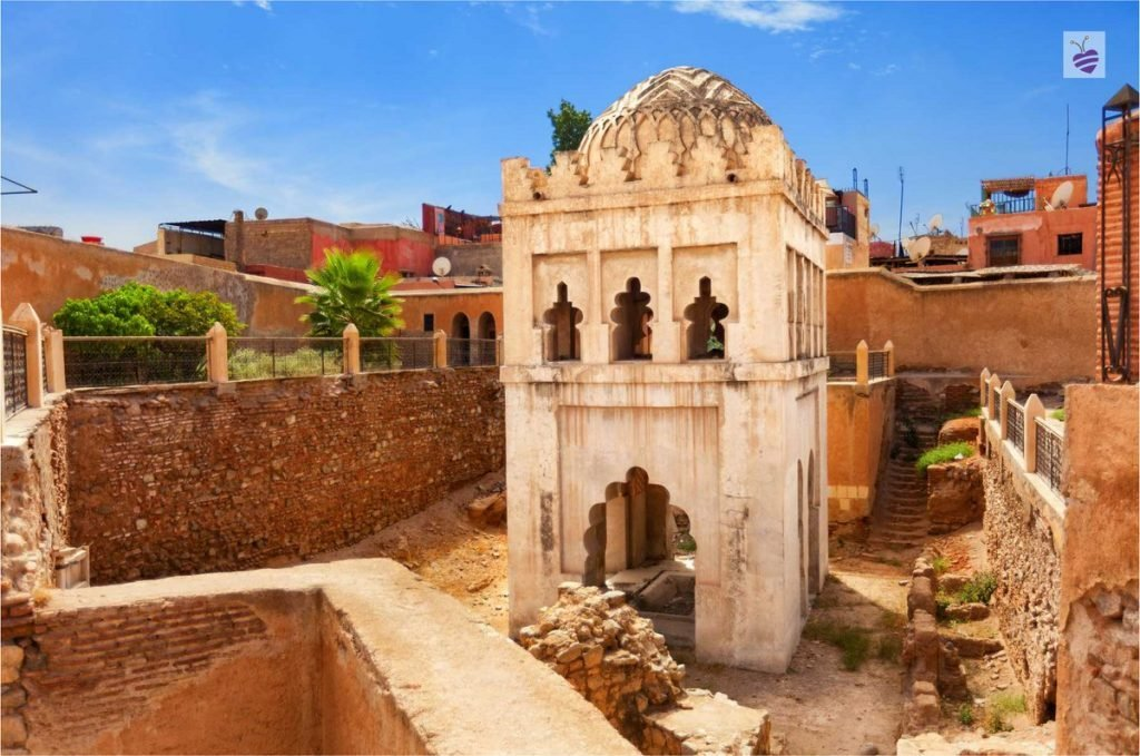 If we want to visit the best of Marrakech in two days we should go to the Almoravid Koubba