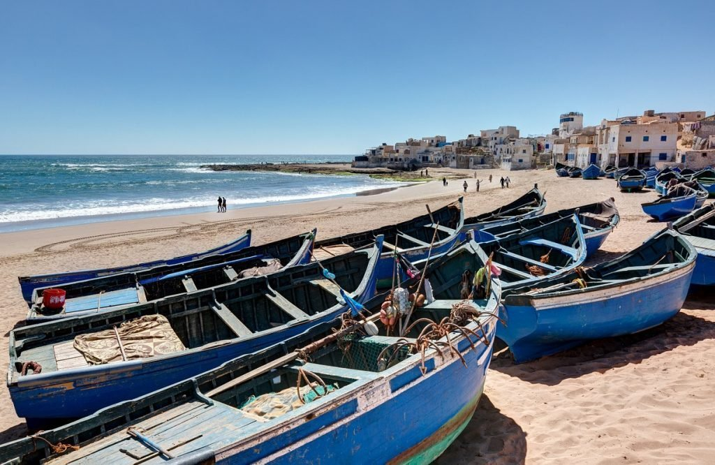 Fishing Port of Agadir