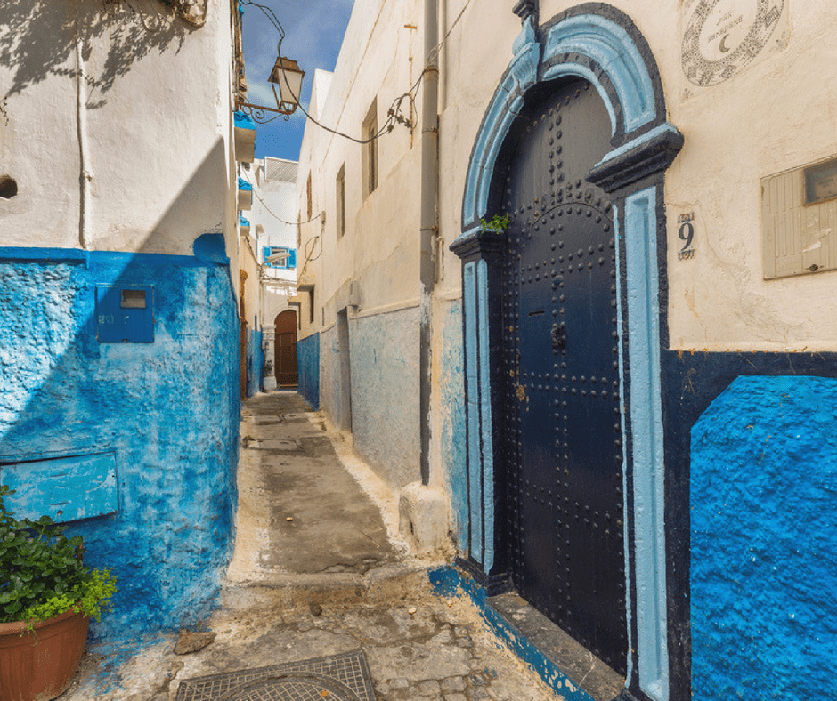 Walking the streets of the Kasbah