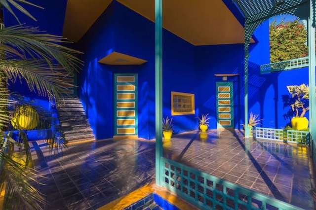 The Berber museum in the Majorelle Gardens in Marrakech is one of the most unique spaces of the place