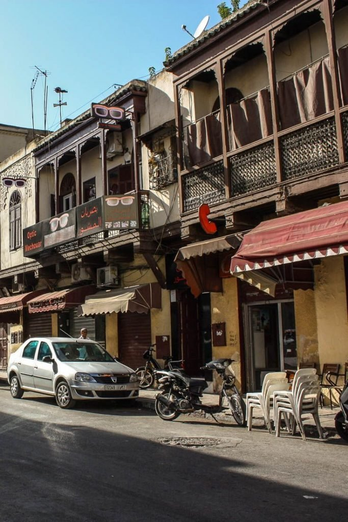 Jewish Quarter in Fez