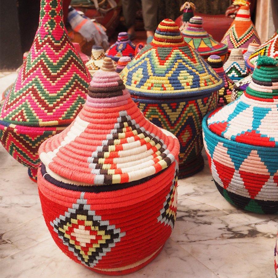 Moroccan Baskets