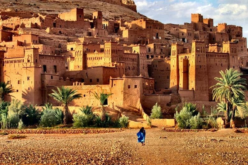 Ksar Ait Ben Haddou on the Route of a Thousand Kasbahs