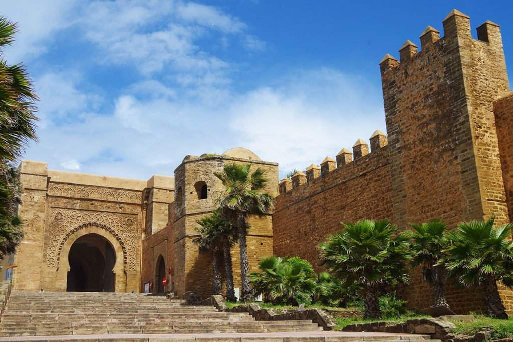 The Kasbah of the Udayas is an ancient fortress, which was designed as a family fort in the 13th century.