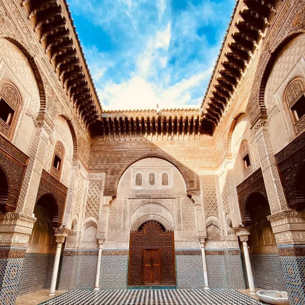 Madrasa Al-Attarine, Fez, Morocco
