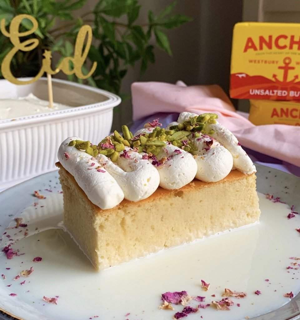 Moroccan Milk Cake Recipe