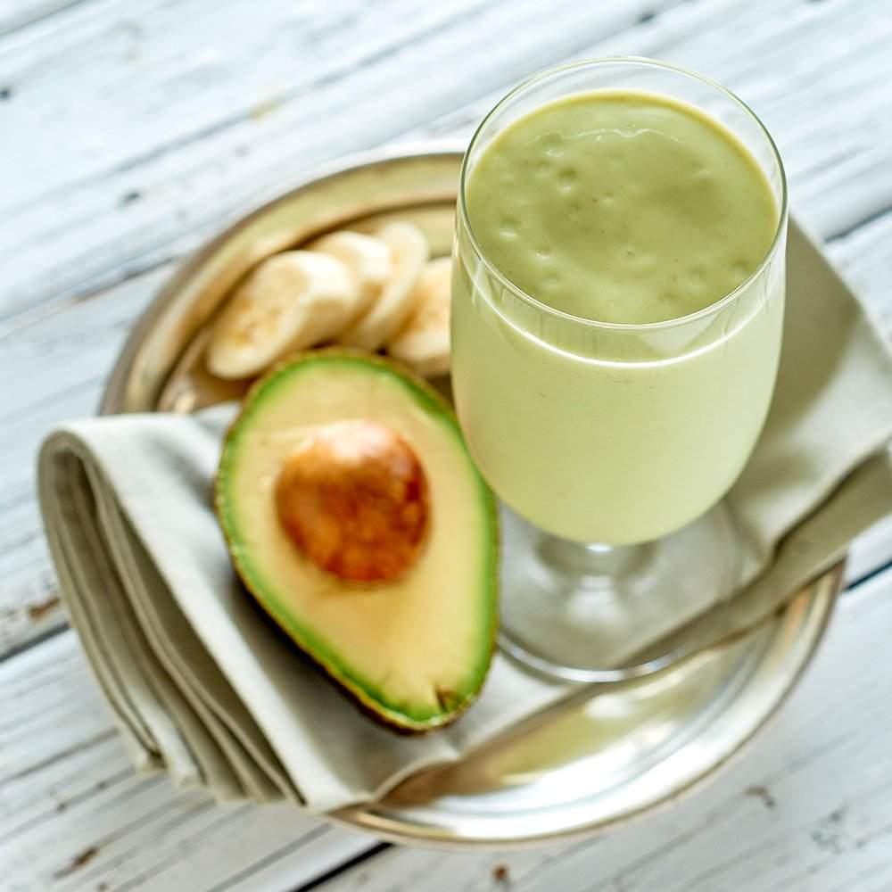 Moroccan Avocado and Banana Shake
