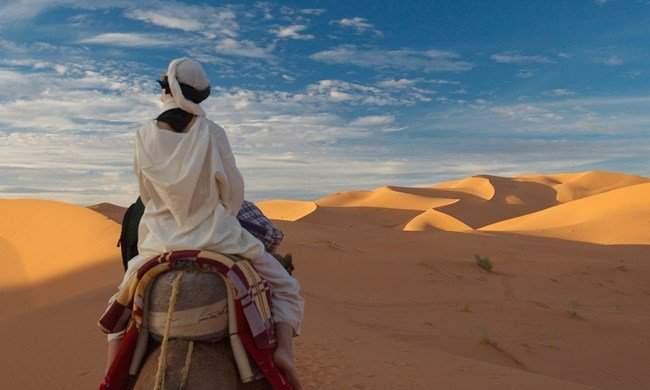 Where is the Sahara Desert?