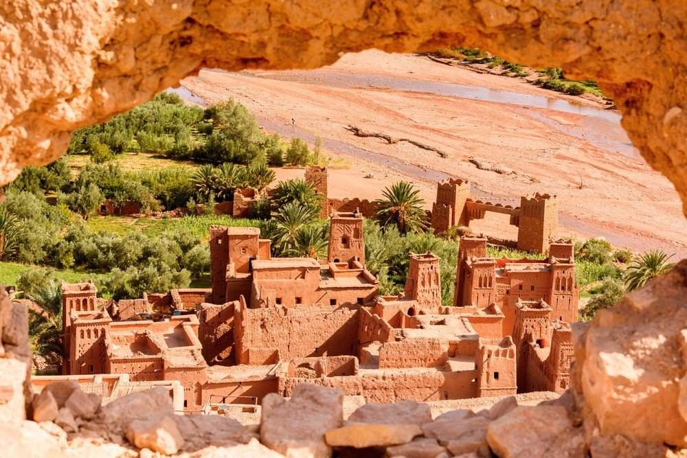 The View of Ait Ben Haddou